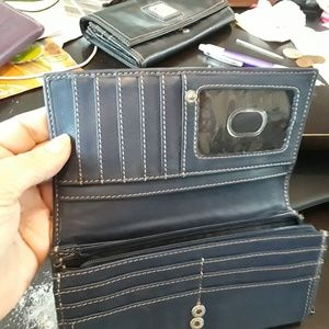 Tignanello Navy Blue Wallet